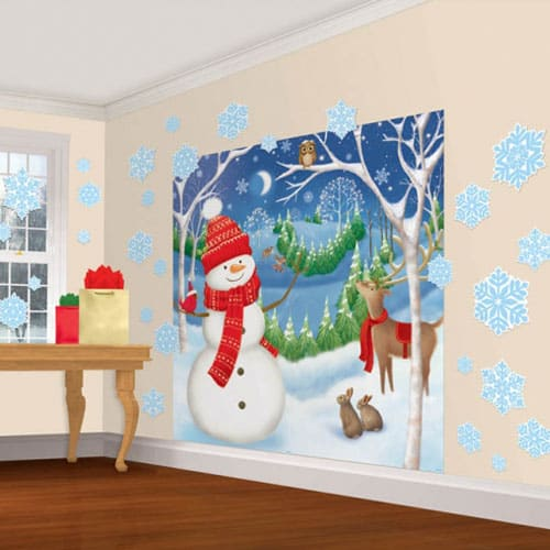 Kerst Winter Friends Decorating Uitrusting 165cm