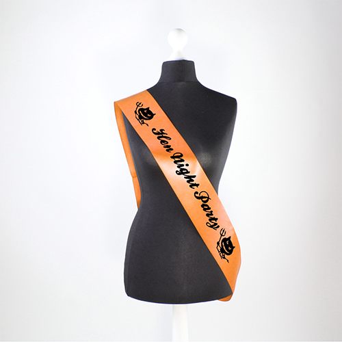 Hen Night Party Pre-Printed Sash
