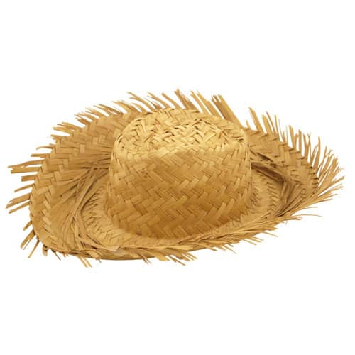 Straw Hawaiian Hat