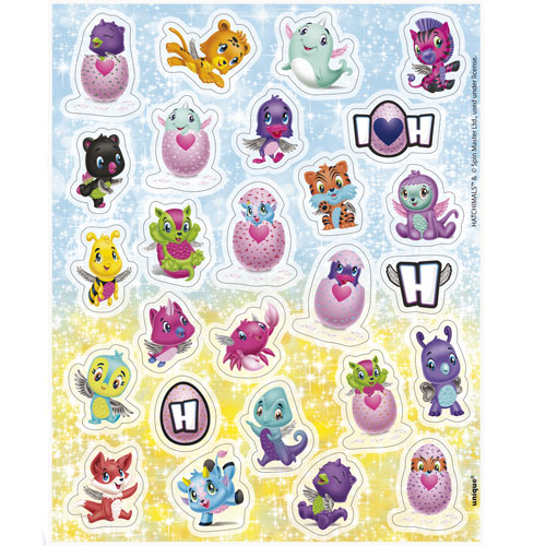 Hatchimals Stickers - Pak Van 104