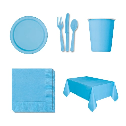 Baby Blue 18 Person Party Pack
