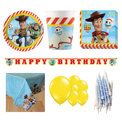Toy Story 8 Person Deluxe Party Pack