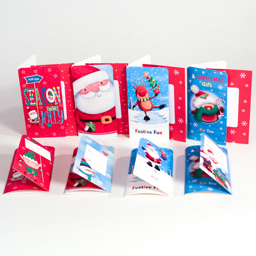 Assorted Cute Christmas Money Wallet