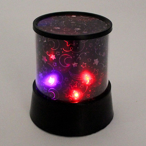 Colour Changing Star Projector 12cm