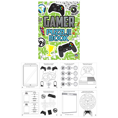 Gamer Puzzelboek