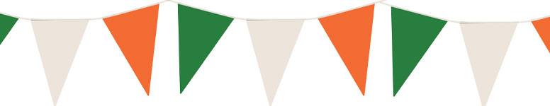 Ierland Nylon Wimpel Bunting 7M