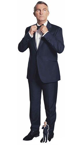 Doctor Who Spyfall Bradley Walsh Graham Suit Levensgrote Kartonnen Uitsnijding 177Cm