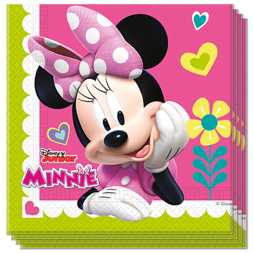 Disney Minnie Mouse Lunchservetten 33Cm 2-Laags - Pak Van 20